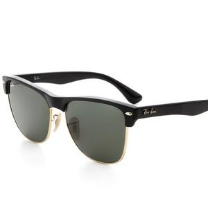 [ray ban] Clubmaster Oversized Sunglasses